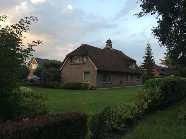Modern landhuis aan recreatievijver - Emmer-Compascuum - Casa