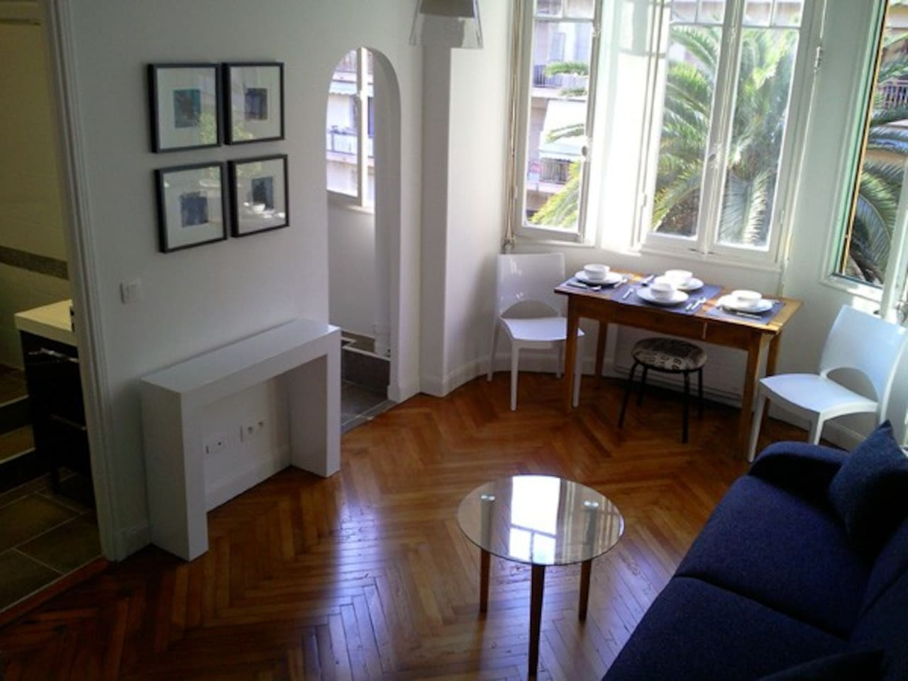 A charming   bright apartment