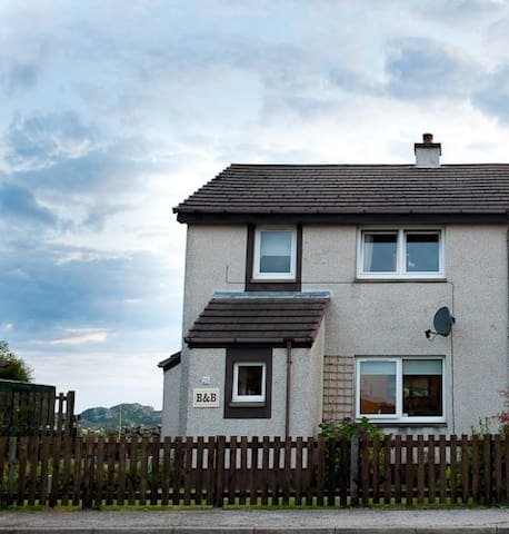 A  small, quiet, family run bed and breakfast - Kinlochbervie - Bed & Breakfast