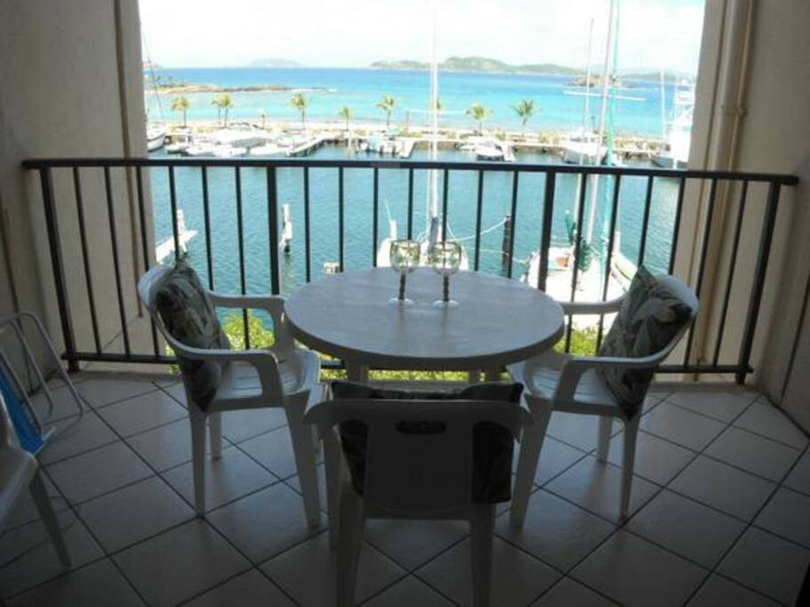 Sit on balcony and watch the sail boats and view of the ocean !!!  MILLION DOLLAR VIEW !!!