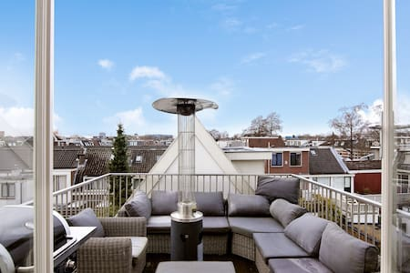 → APARTMENT WITH ROOFTERRACE + VIEW ON DOM TOWER ← - Utrecht