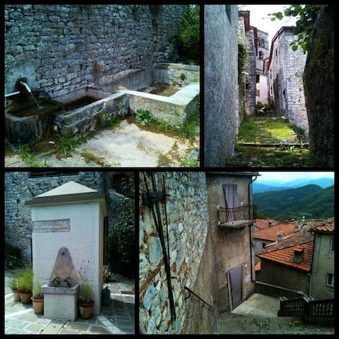Relax in borgo medievale..... - motrone di borgo a mozzano - Дом