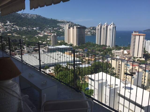 Hermoso depto con vístas a la bahía de Acapulco - Acapulco - Wohnung