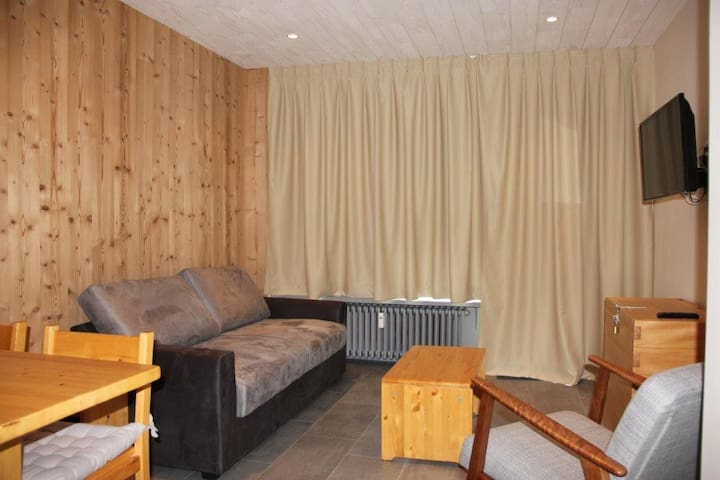 HTVCB34 - 1 separated bedroom apt. Ski in and out. South/West facing view - TIGNES - Byt