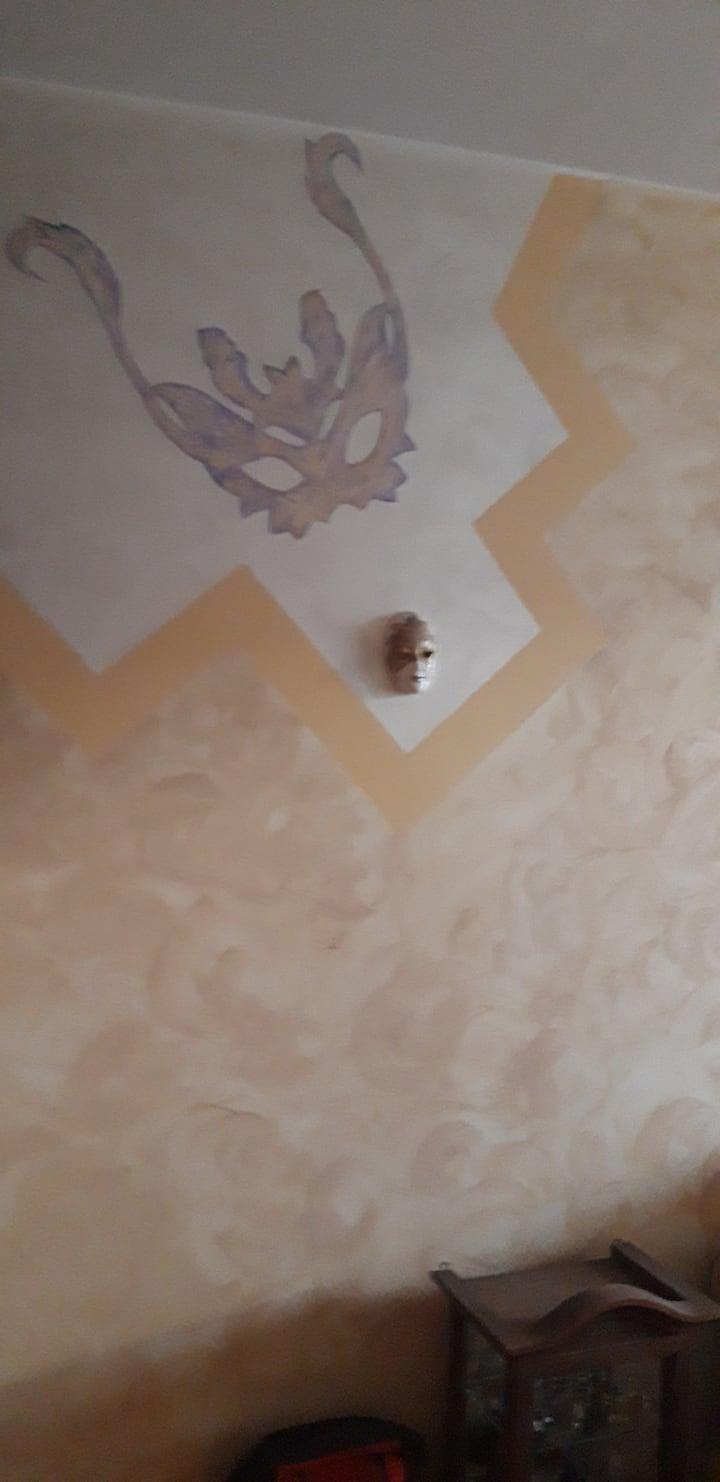 Chambre Privée Jaune dans villa