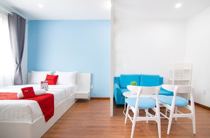 Next to CBD/A studio with all you need for budget