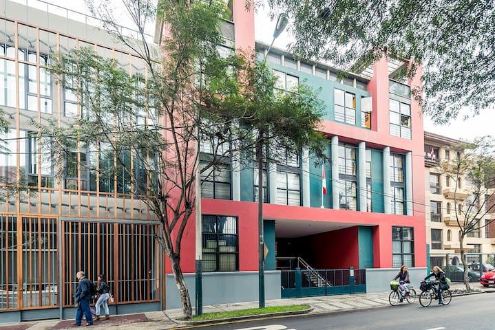 Lindo barrio, malecon de Barranco ! - Barranco - อพาร์ทเมนท์