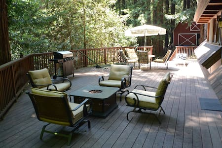 Retreat in Redwoods - see listing end for discount - 沃森维尔(Watsonville) - 小木屋