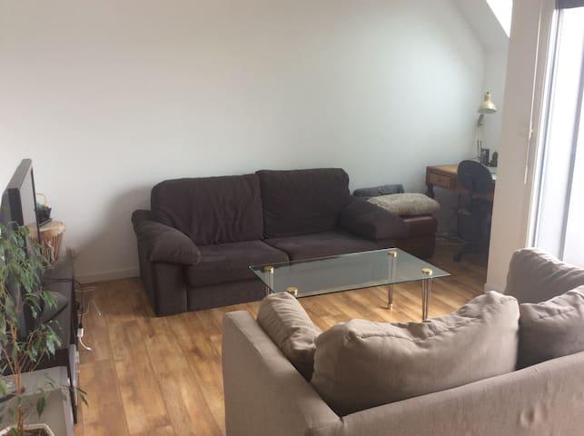 Appartement 2 personnes avec grande terrasse - Valenciennes - Huoneisto