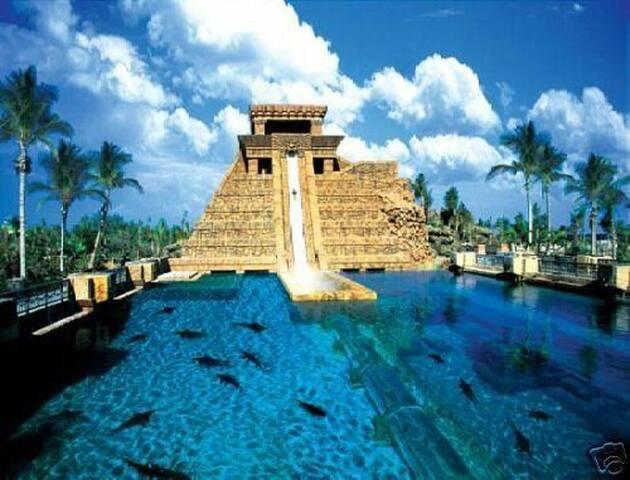 Famous 'Leap of Faith' water slide