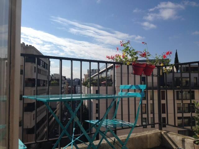 Sunny place for Paris city breaks