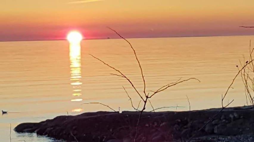 Hyggeligt sommerhus - 4 min. gang fra Storebælt