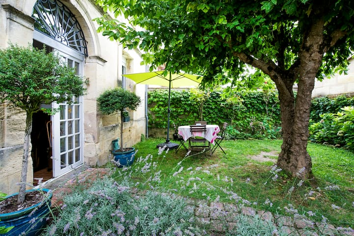 Belle maison de village - Moulon, Gironde - บ้าน