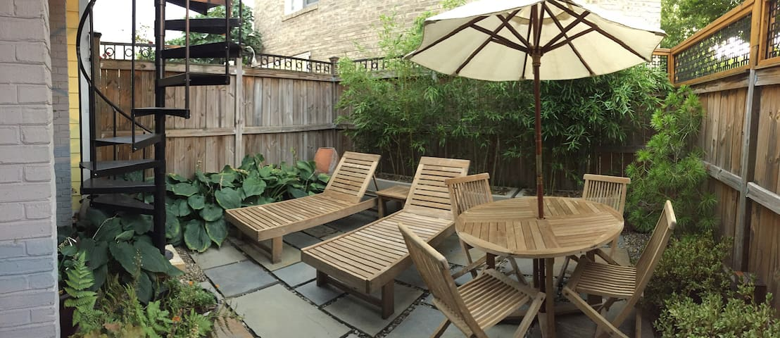 ★Petite Patio Oasis★ H Street Fun and FREE Trolley