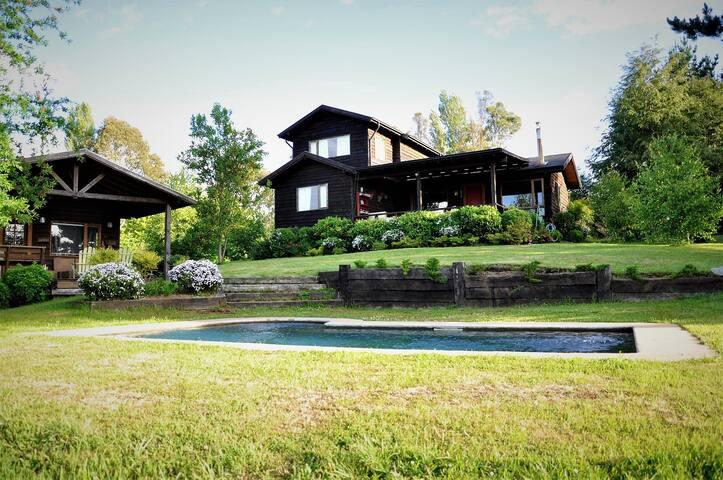 Casa en Lago y Campo en Pucon