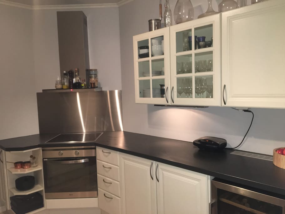 Nice separate kitchen, with dishwasher