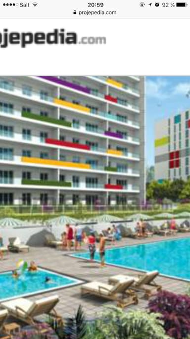 Belle appart piscine et fitness appartamenti in affitto a maltepe istanbul turchia - Piscine istanbul ...