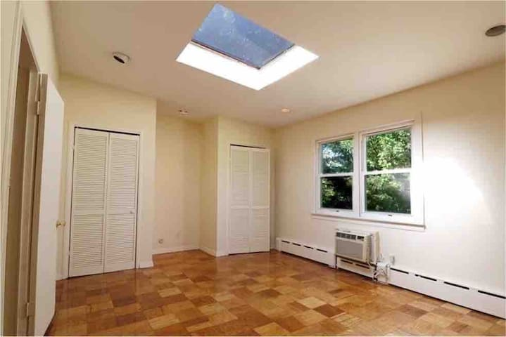 Spacious Skylight Room w/ Renovated Spa Bathroom