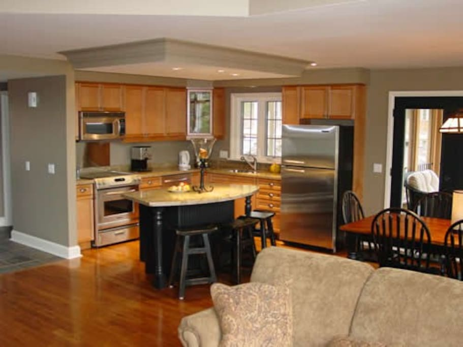 Full kitchen with all appliances, dishes, utensils and more ... everything you'll need included!