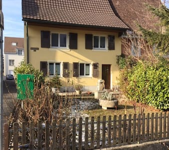 Nice room near Basel with high standard of comfort - Dornach - Bed & Breakfast