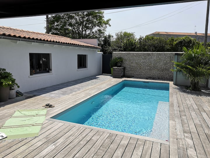 Maison avec piscine en coeur de ville