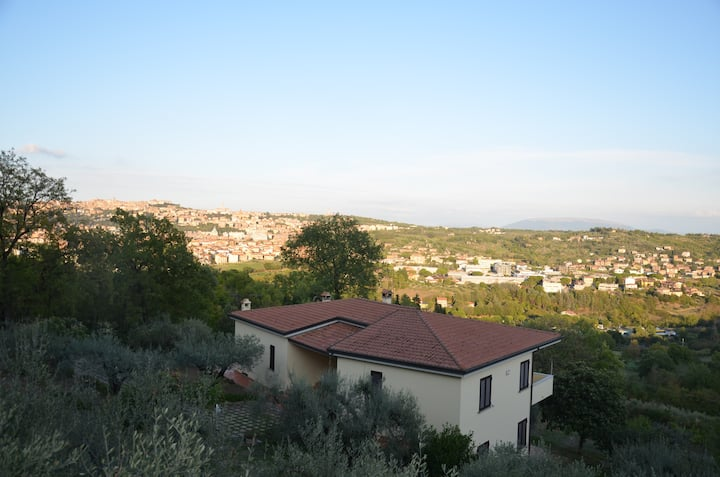 Villa with a view over Perugia