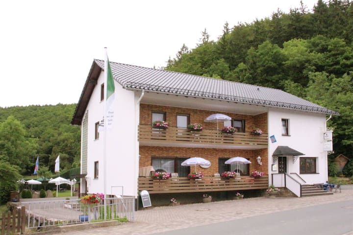 Stylish, small ground floor apartment in the Sauerland with a separate entrance