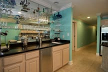 Bar with Icemaker