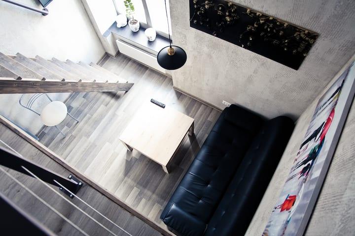 Studio-loft in the City Centre