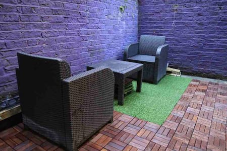 double room with private patio