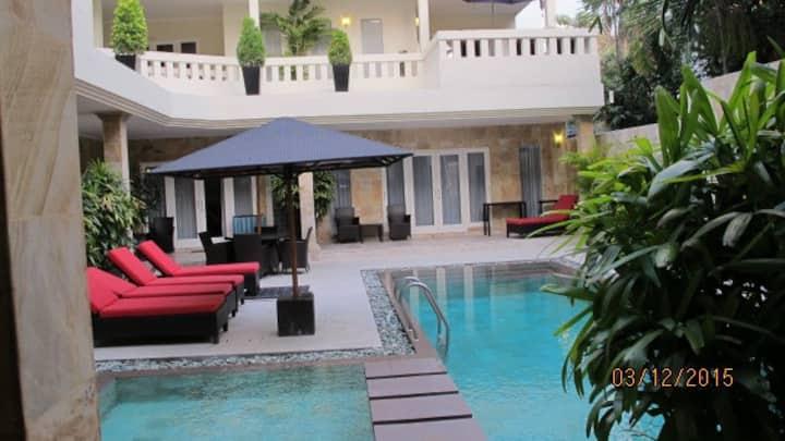 Appartement de style moderne Bali avec 1-2 chambres