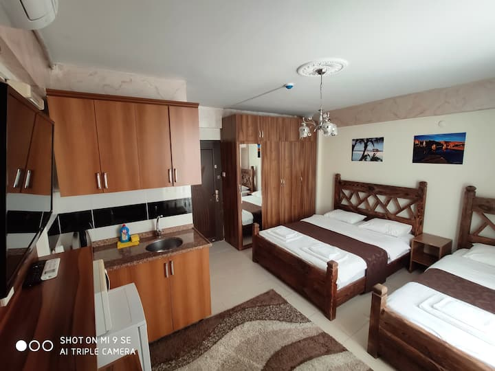 APARTMENT ROOM WİTH KİTCHEN 2 OR 3 PERSONS