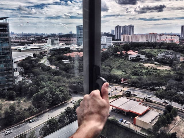 HOT!!! Celebrity Kitchen, STUDIO & A View! - Petaling Jaya - Apartemen