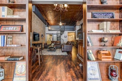 Lincoln's Loft-Speakeasy Loft Downtown Lincoln,IL