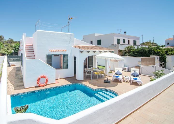 Villa Coral -private pool, beach, AC, WiFi