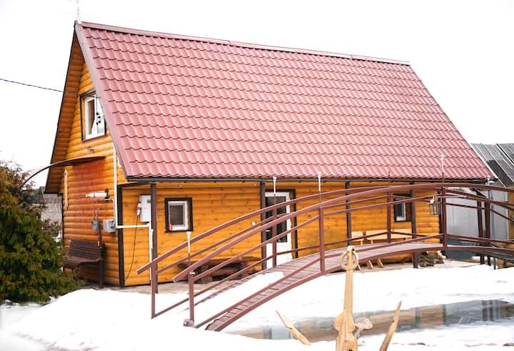 Farmhouse Kamennaya Gorka near Svisloch Castle