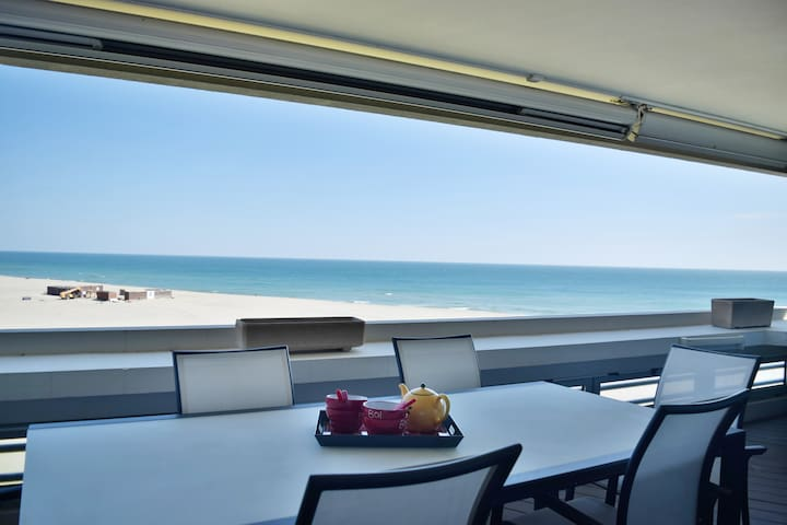H3 BNB Confort Residence - Terrace - Sea View