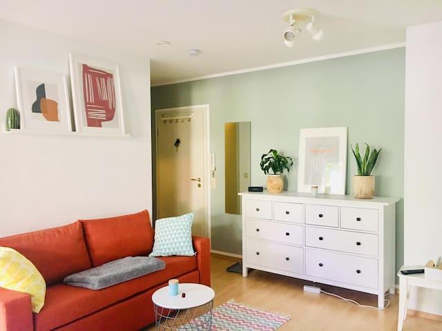 Helles & gemütliches Apartment nähe Heidelberg
