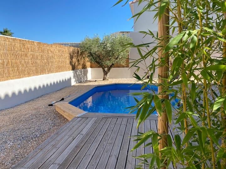 Villa 100m2 avec piscine et proche de Nîmes