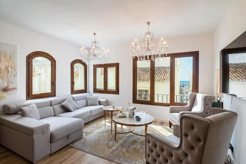 Puerto Banus second line, luxury apartement
