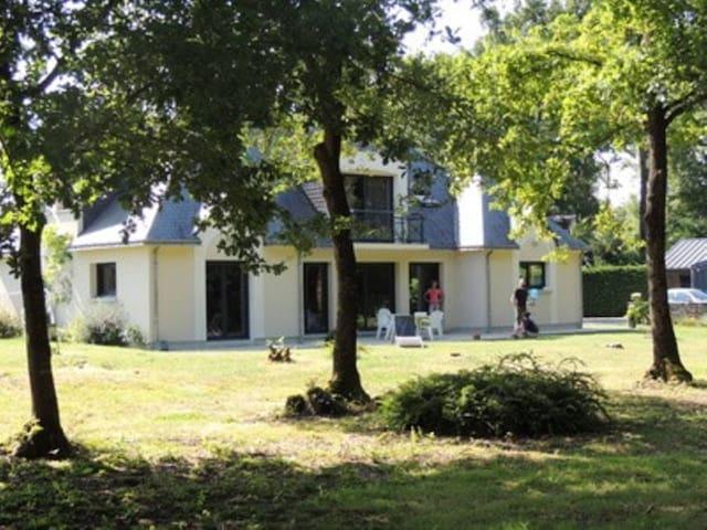 2 chambres maison calme en lisière de bois