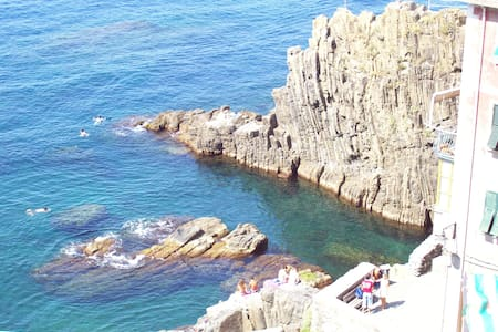 IN THE CINQUE TERRE, NEAR THE SEA - Riomaggiore