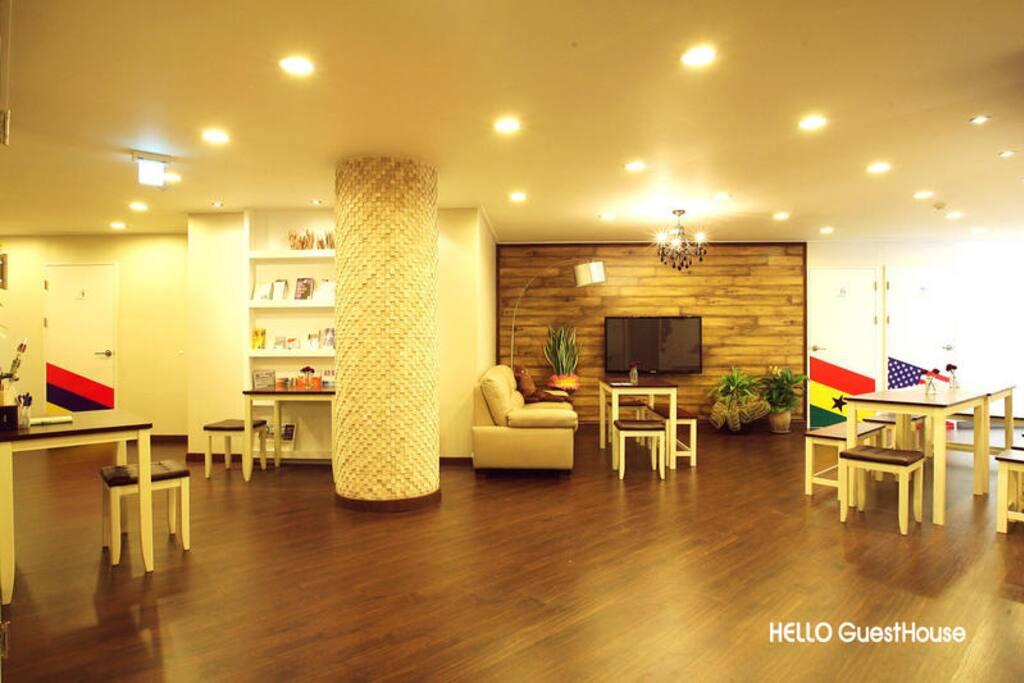 living room in second floor