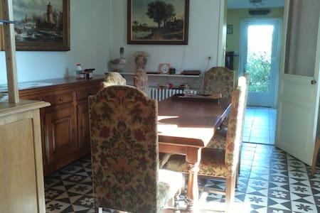 Au repos ligérien: chambres d'hôtes - Saint-Florent-le-Vieil - 一軒家