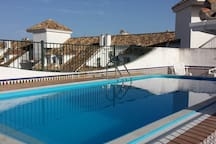 Rooftop top pool