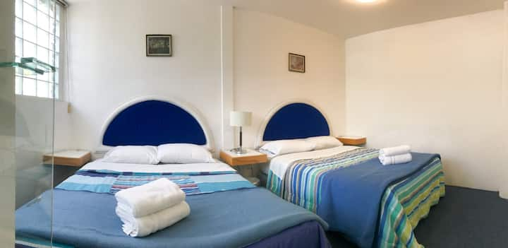 2 Beds Suite near to the Frida Kahlo Museum - 201