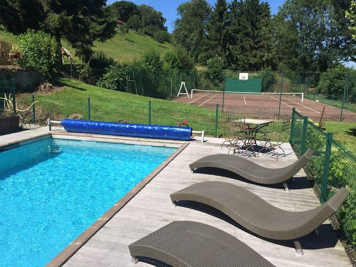 Maison à Honfleur av piscine privée