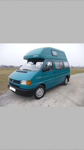 VW Bus T4 California mit Hochdach - Obergünzburg - Camper/RV