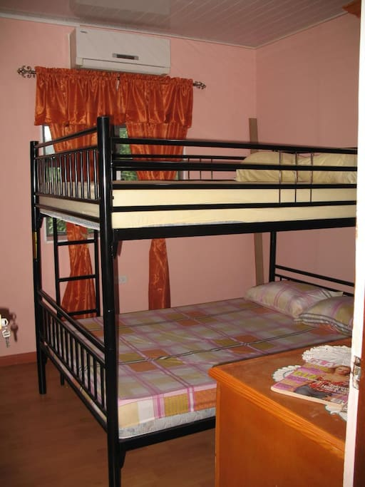 #Rose room - double bunk beds