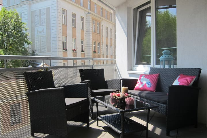 Citycenter+Terrace + free garage